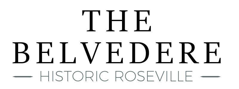 The Belvedere Historic Roseville Logo