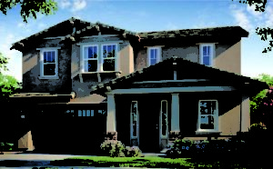 Parkview Elk Grove Residence three Craftsman